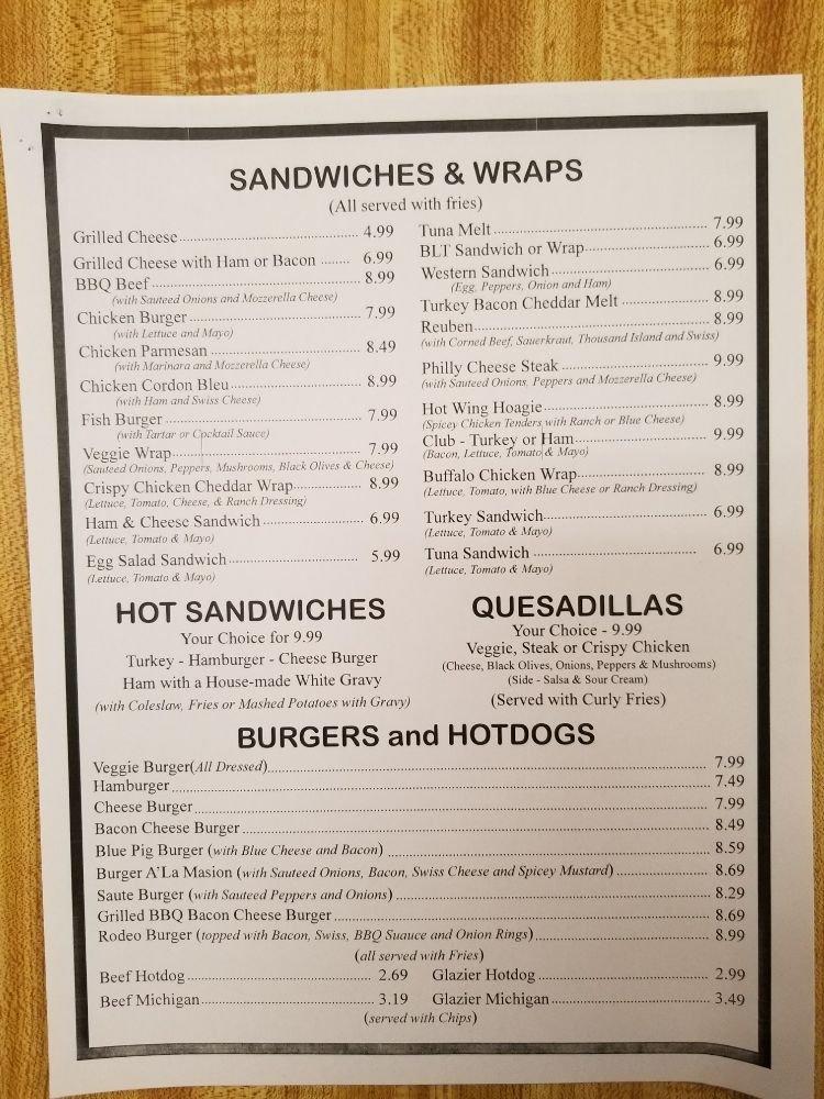 Sandi's Kountry Kitchen: 2539 State Rte 11, Mooers, NY