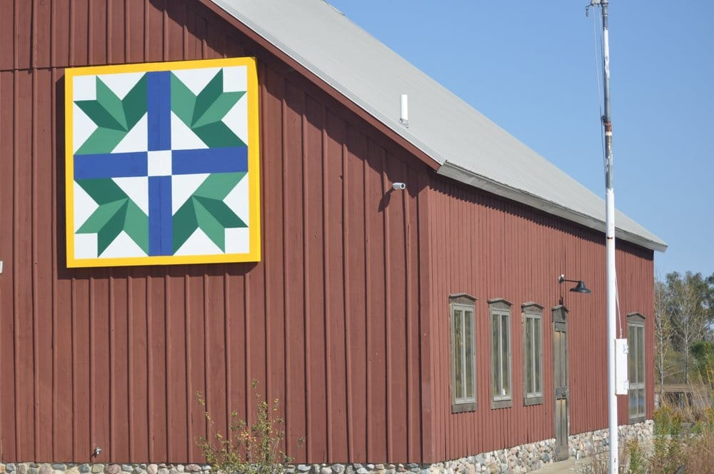Kankakee County Barn Quilts: 1 Dearborn Sq, Kankakee, IL