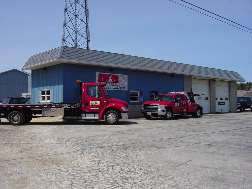M & R Service Center: N188 County Rd Ll, Cedar Grove, WI
