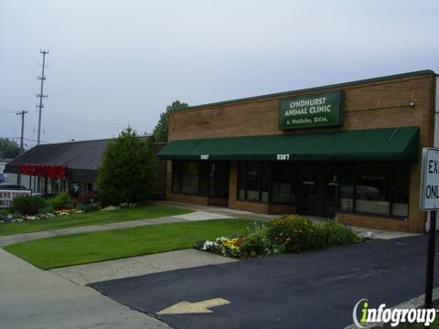 Lyndhurst Animal Clinic: 5387 Mayfield Rd., Lyndhurst, OH