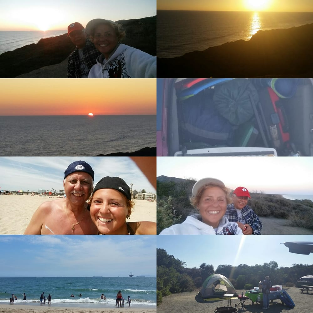 San Clemente State Park Camping: San Onofre Beach Camping. ..bluff Site 45!