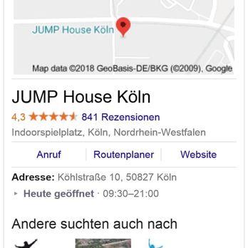 jump house köln adresse