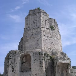 La tour magne landmarks historical buildings jardins de la fontaine n mes gard france - Tour magne nimes ...