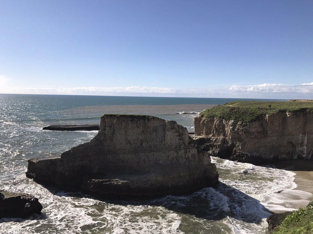Davenport Beach: Hwy 1, Davenport, CA