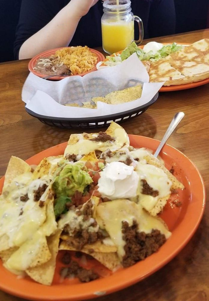 Food from Ranchito Mexican Restaurant