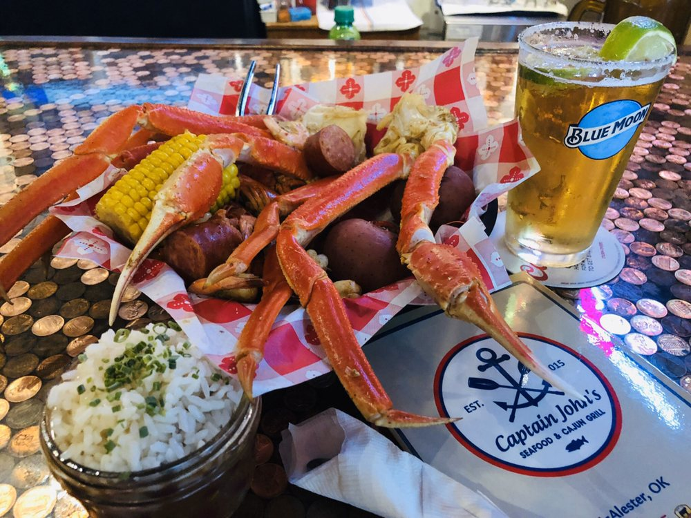 Captain Johns Seafood & Cajun Grill: 1216 S George Nigh Expy, McAlester, OK