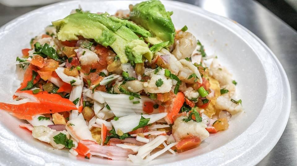 Menu baja cali fish tacos for Baja fish tacos menu