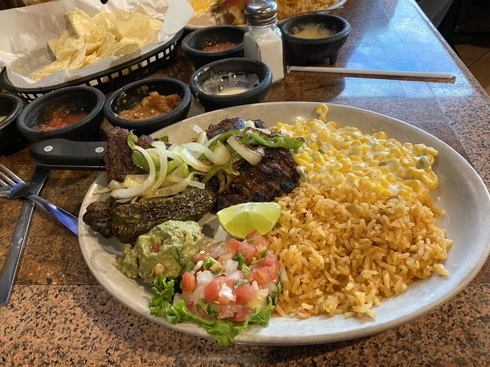 Pecina's Mexican Cafe: 200 E Main St, Hinton, OK