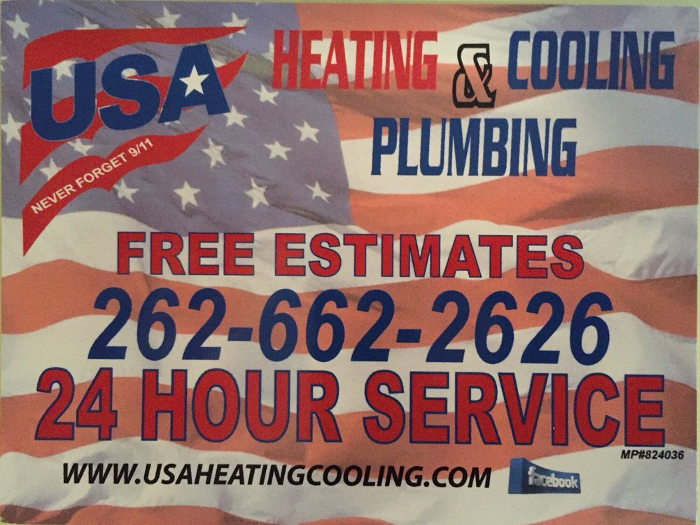 USA Heating Cooling & Plumbing: W228s6942 Enterprise Dr, Big Bend, WI