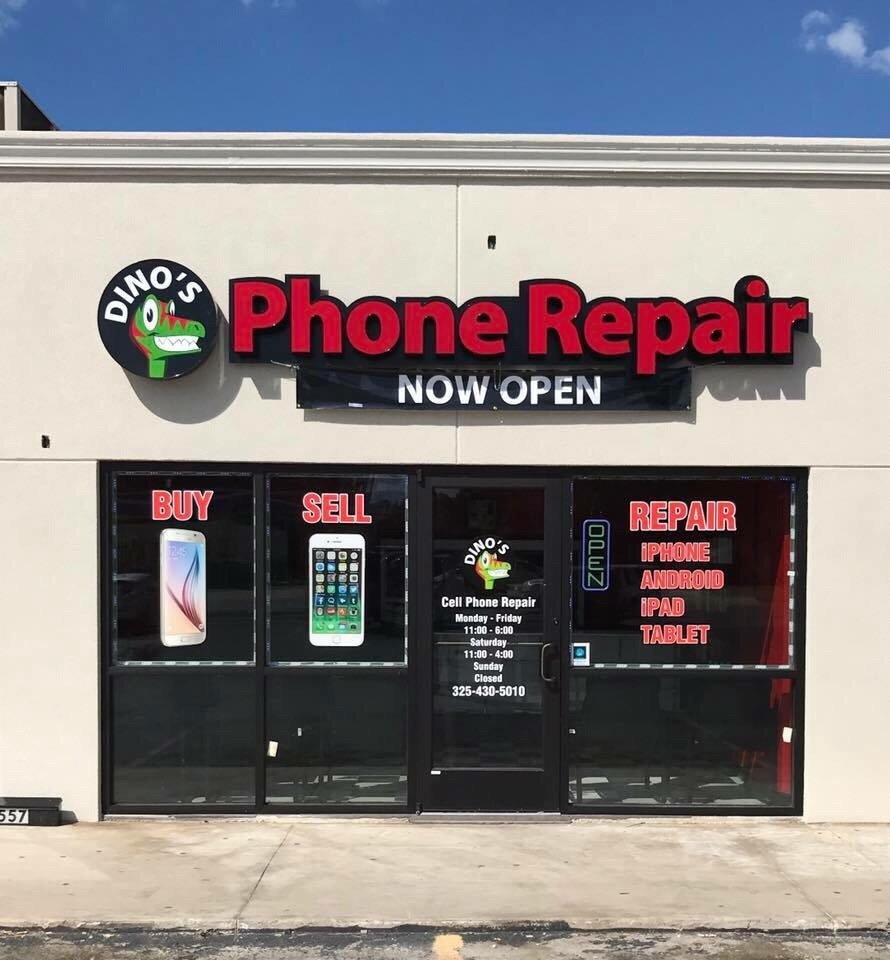 Dino's Phone Repair: 557 W Commerce St, Brownwood, TX