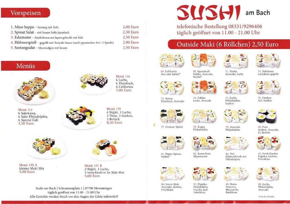 fotos zu sushi am bach yelp. Black Bedroom Furniture Sets. Home Design Ideas