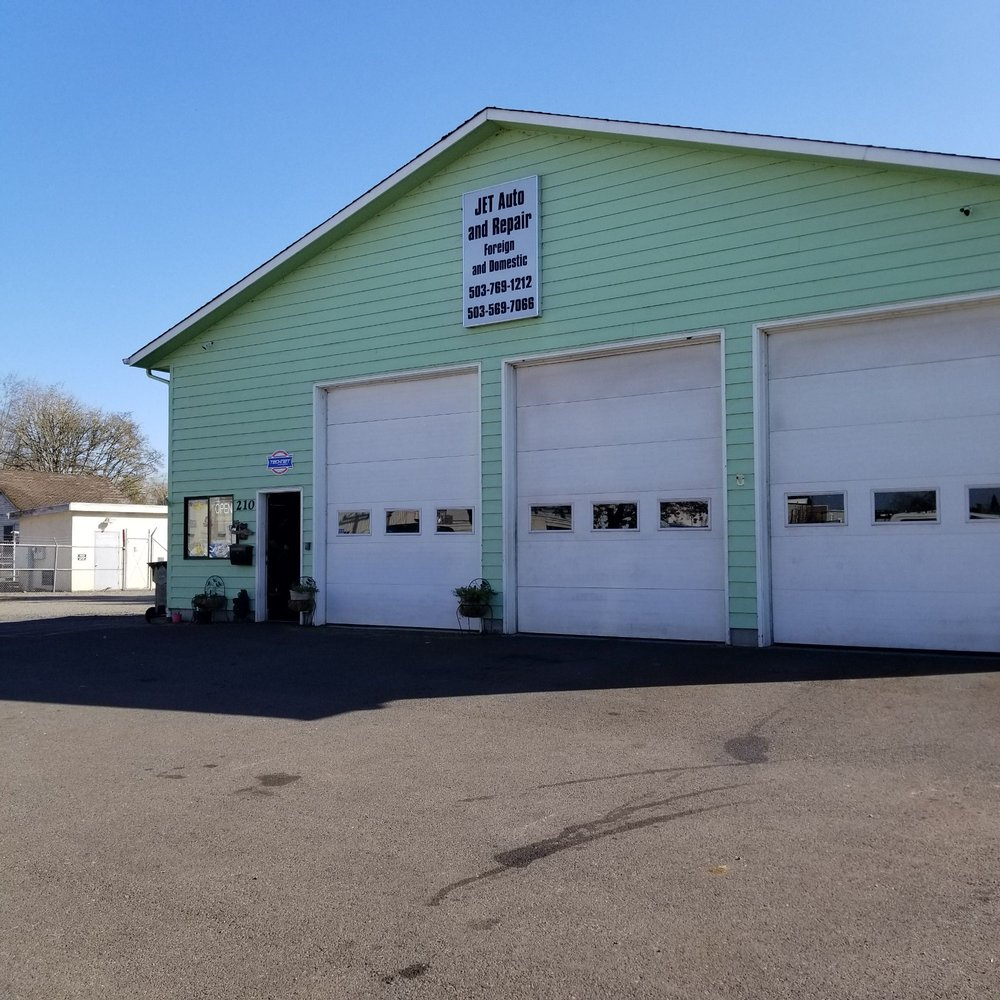 Jet Auto and Repair: 210 E Water St, Stayton, OR
