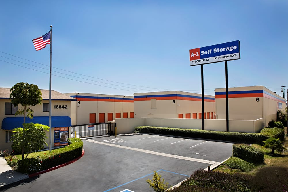 A-1 Self Storage: 16842 Harbor Blvd, Fountain Valley, CA