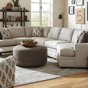 Design Options Leather Sectional Photo Of Belfort Furniture Sterling Va United States With