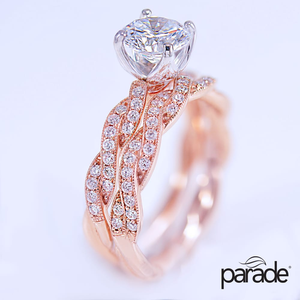 Parade Design Hemera Bridal Engagement Rings by Princess Bride ...