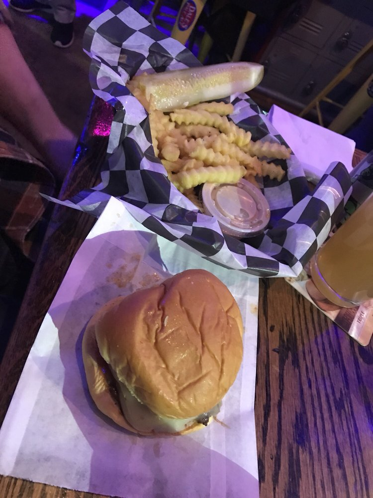 Food from Jack Brown's Beer & Burger Joint