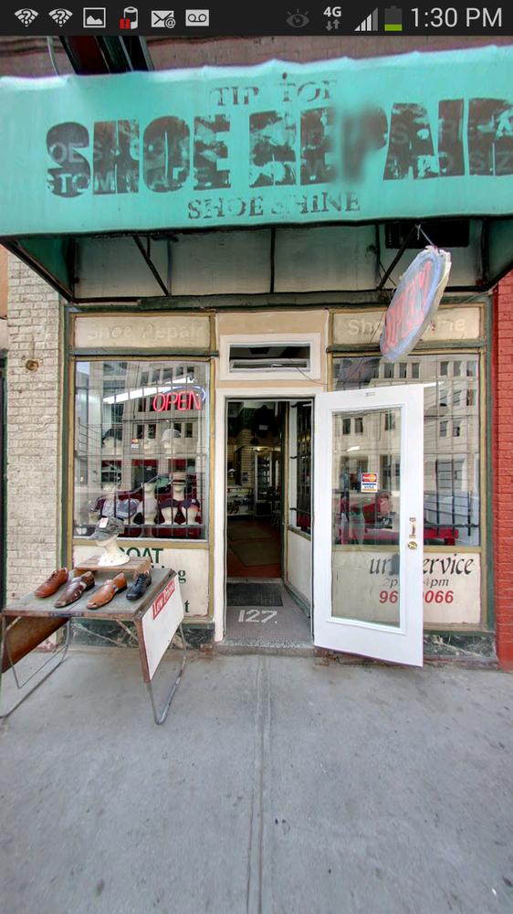 Shoe Repair Downtown Detroit