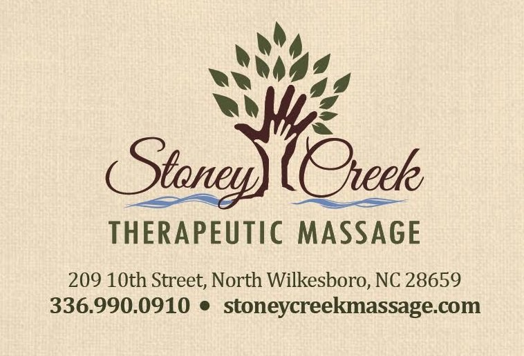 Stoney Creek Therapeutic Massage: 209 10th St, North Wilkesboro, NC