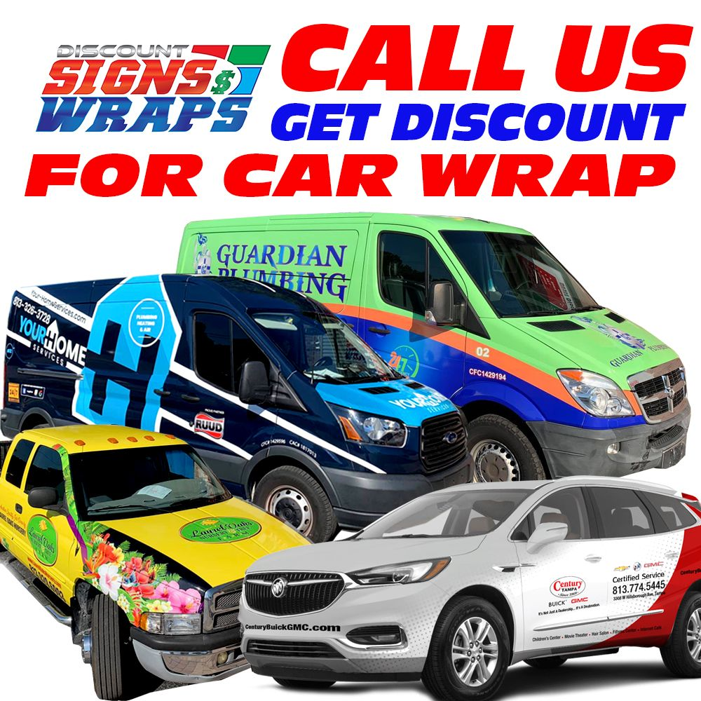 Discount Signs and Wraps: 3691 State Road 580, Oldsmar, FL