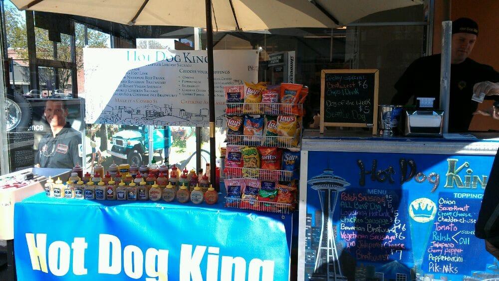 Authentic Seattle Hot Dog