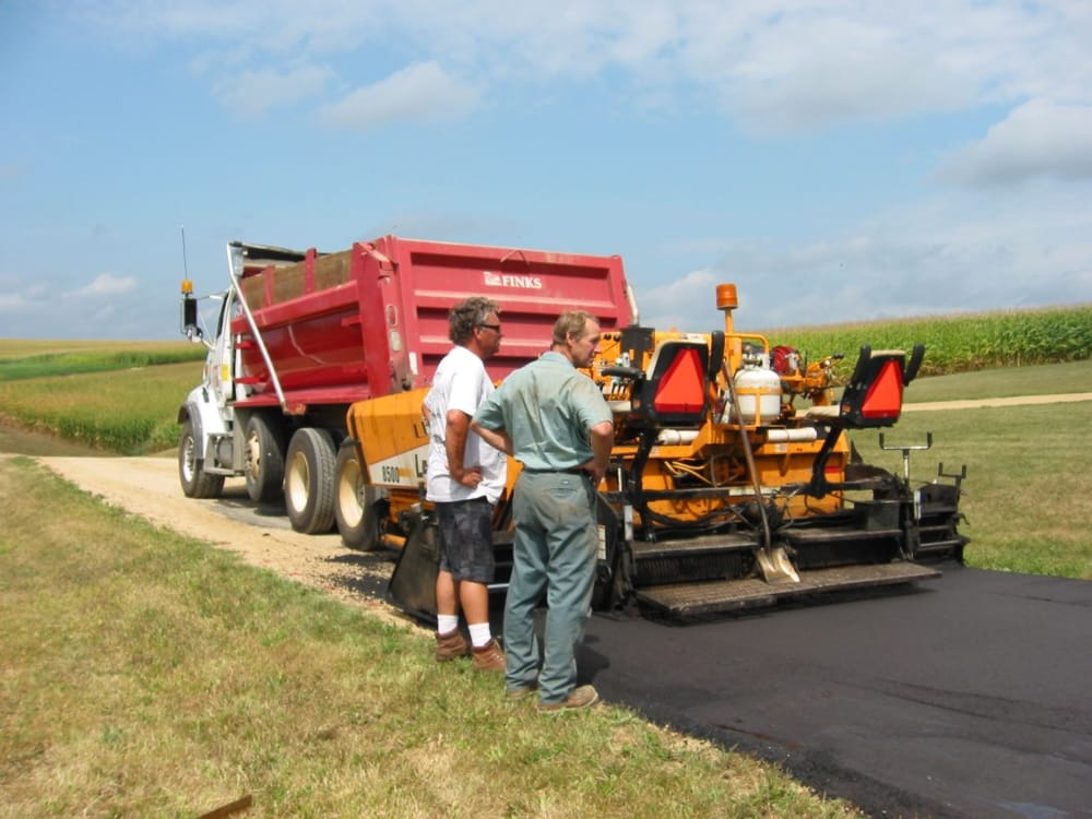 Fink's Paving, Excavating & Concrete: 2732 State Rd 78, Mount Horeb, WI