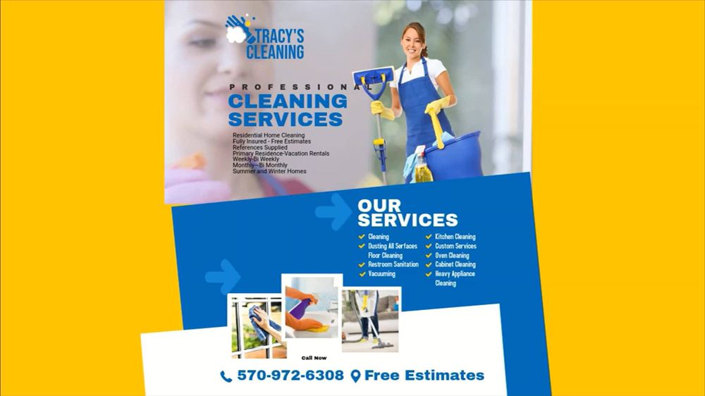 Tracy's Cleaning: Blakeslee, PA