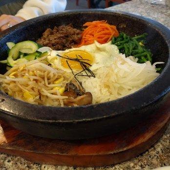 Photo Of Seoul Garden Restaurant   Raleigh, NC, United States. Beef  Bimimbap Hot