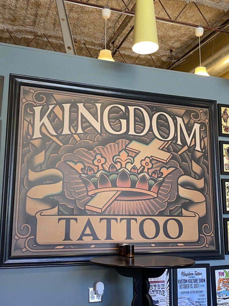 Kingdom Tattoo: 627 B E College Ave, Decatur, GA
