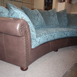 Attractive Photo Of Sofa Biz   Sandy, UT, United States. Custom Curved Sofa Built