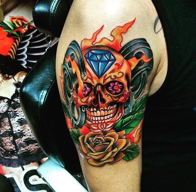 Dia de los muertos tattoo yelp for Tattoos san antonio tx