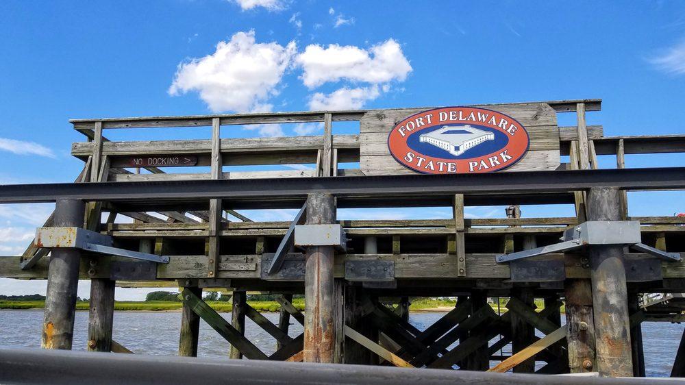Fort Delaware State Park: 45 Clinton St, Delaware City, DE
