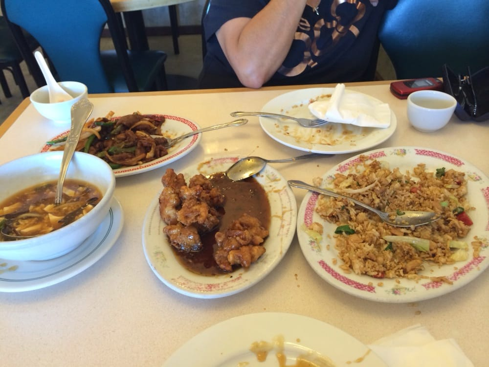 Two person meal b way more than what my mom and i for Andys chinese cuisine