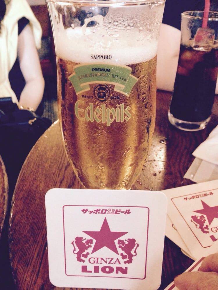 Beer Hall LION GINZA 7chome