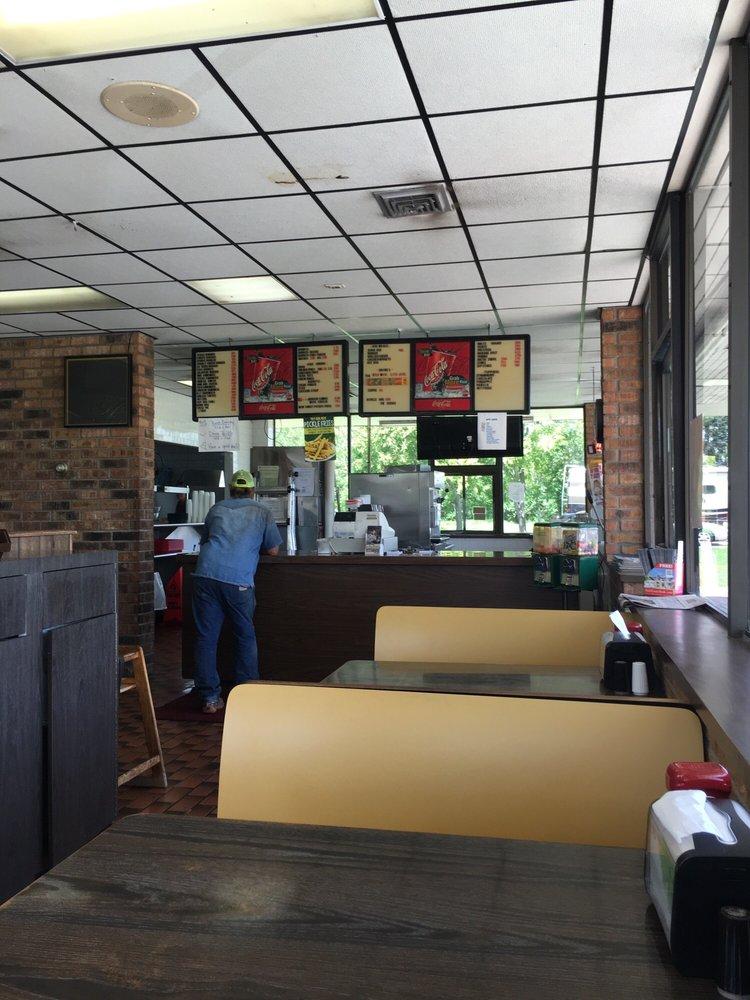 Texas Style Burger: 100 Brazos St, Brazoria, TX