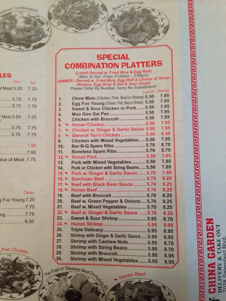Chinese Restaurants Near Fredericksburg