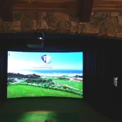 Indoor golf design 10 fotos golfausr stung 4980 s for Indoor golf design