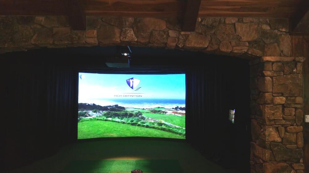 Indoor golf design 10 foto attrezzatura da golf 4980 for Indoor golf design