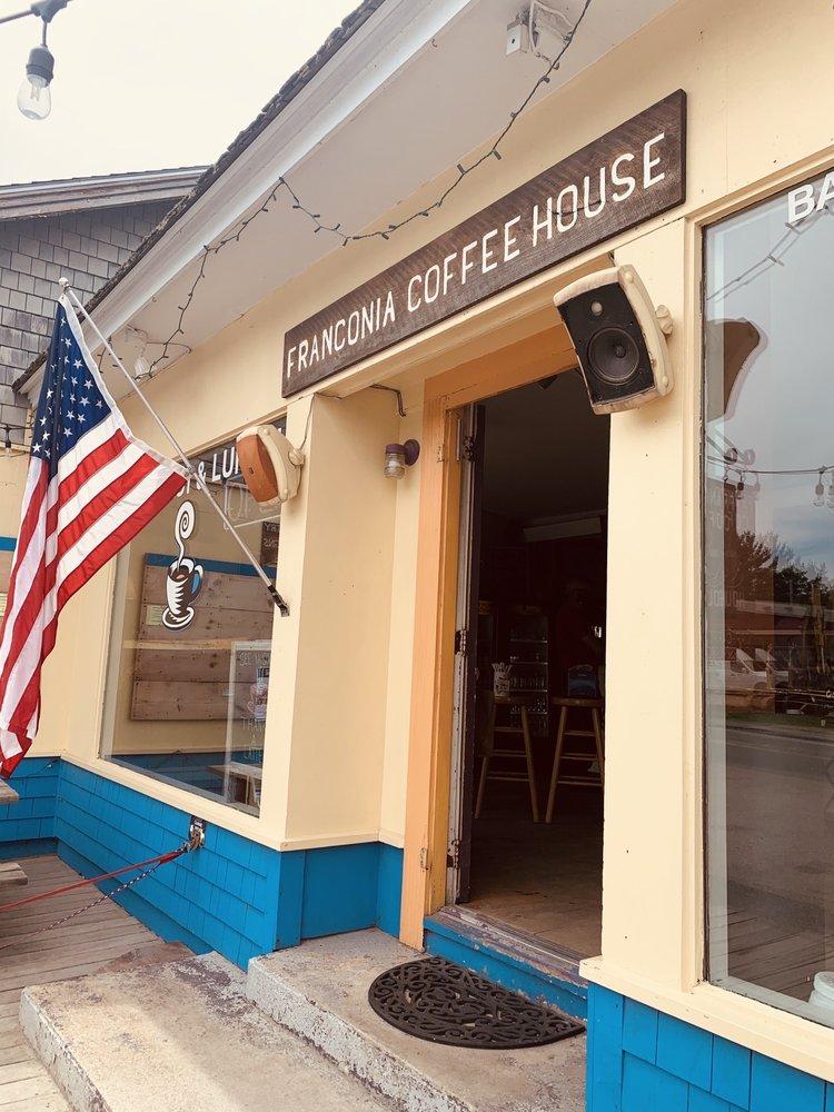 Backpack Cafe: 334 Main St, Franconia, NH
