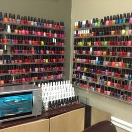 Regal nails inside wal mart nail salons 2200 greengate for Acrylic nails walmart salon