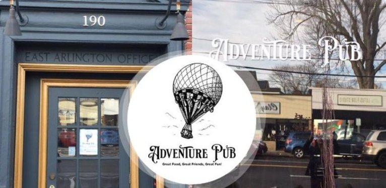 Adventure Pub: 190 Massachusetts Ave, Arlington, MA