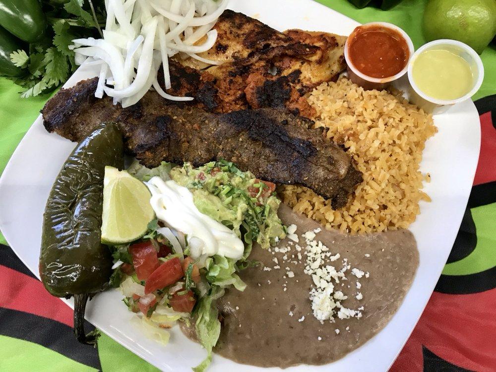 Food from Taqueria El Primo