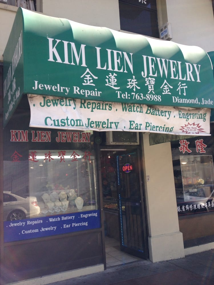 Kim Lien Jewelry 826 Franklin St Oakland Chinatown Ca Phone Number Yelp