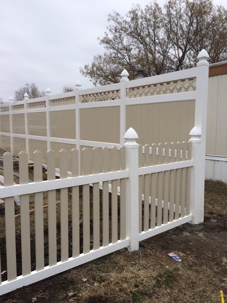 Fence Restorations: 321 N Peachtree St, Ponca City, OK