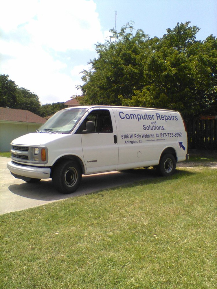 Computer Repairs and Solutions: 6108 West Poly Webb Rd, Arlington, TX