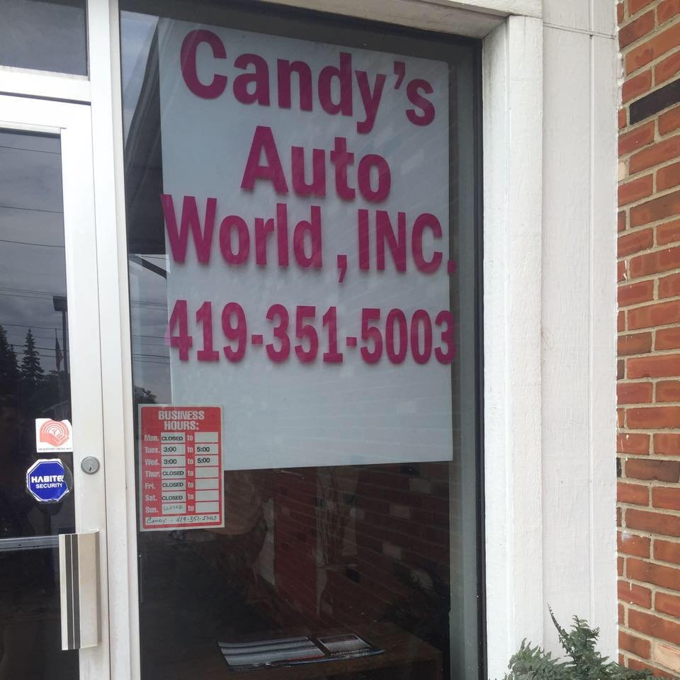 candy s auto world get quote car dealers 4738 dorr st toledo