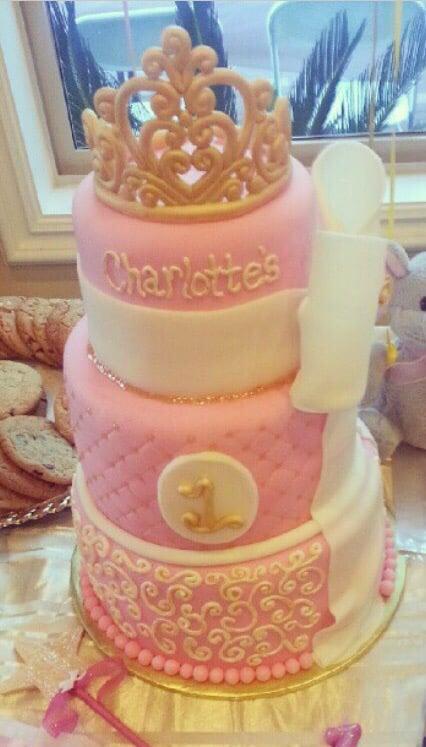 Perfect 1st Birthday Princess Cake Yelp