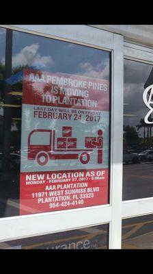AAA Auto Club South 11971 W Sunrise Blvd Plantation, FL