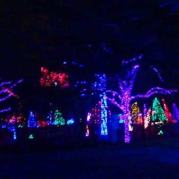 Meadowlark Gardens Christmas Lights