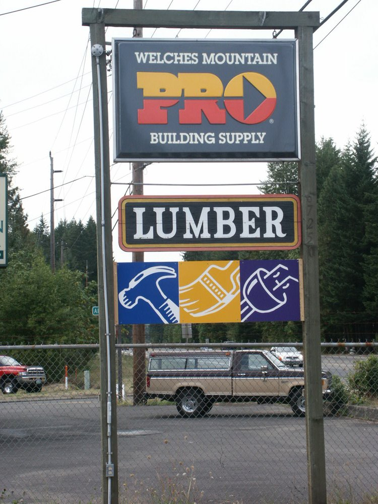 Welches Mountain Building Supply: 67250 E Hwy 26, Welches, OR