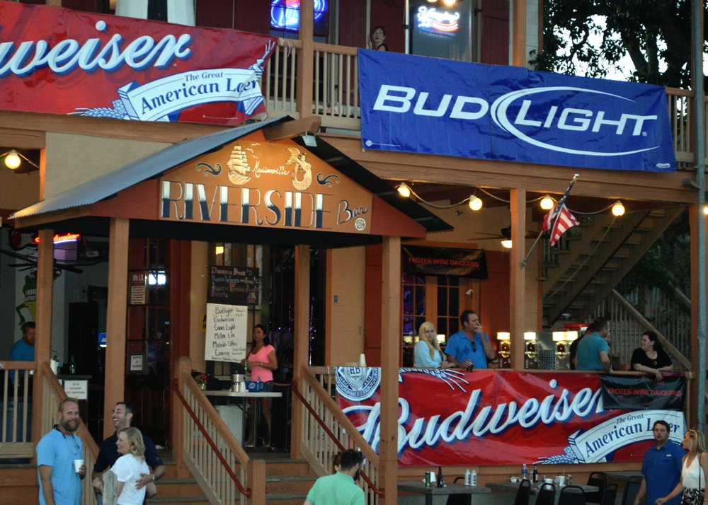 Riverside Bar: 708 Water St, Madisonville, LA